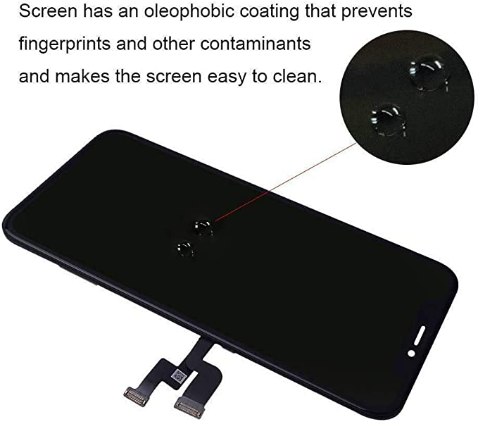 LCD Display Touch Screen Digitizer Assembly with Waterproof Frame Adhesive,Sticker Screen Protector and Repair Tools for iPhone 11 6.1 inch VANYUST for iPhone 11 Screen Replacement