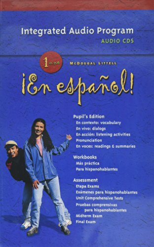 En Espanol! Integrated Audio Program, Level 1 (¡En español!) (Spanish Edition) by MCDOUGAL LITTEL