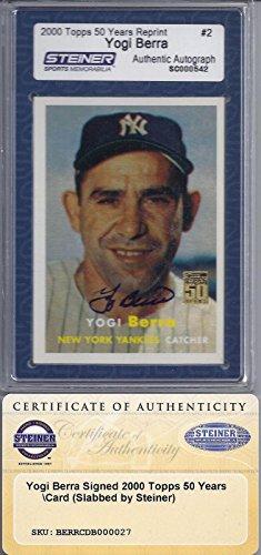 Yogi Berra Signed Baseball - 9
