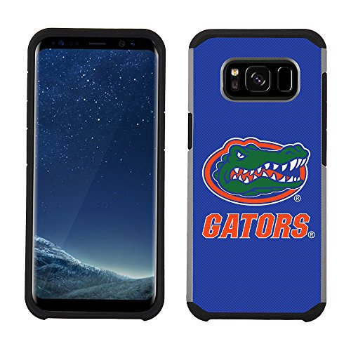 Prime Brands Group Textured Team Color Cell Phone Case for Samsung Galaxy S8 - NCAA Licensed University of Florida Gators