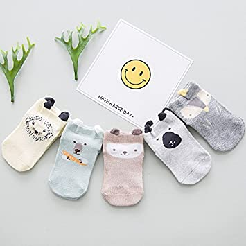 9c705e0b7405 Amazon.com   XIURONG Children s Boat Socks Spring and Summer Boat ...
