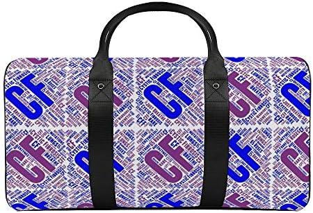 ワードアート1 旅行バッグナイロンハンドバッグ大容量軽量多機能荷物ポーチフィットネスバッグユニセックス旅行ビジネス通勤旅行スーツケースポーチ収納バッグ