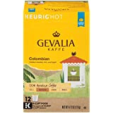 GEVALIA Kaffe Colombia K-CUP Pods, Medium Roast, 12 Count (Pack of 6)