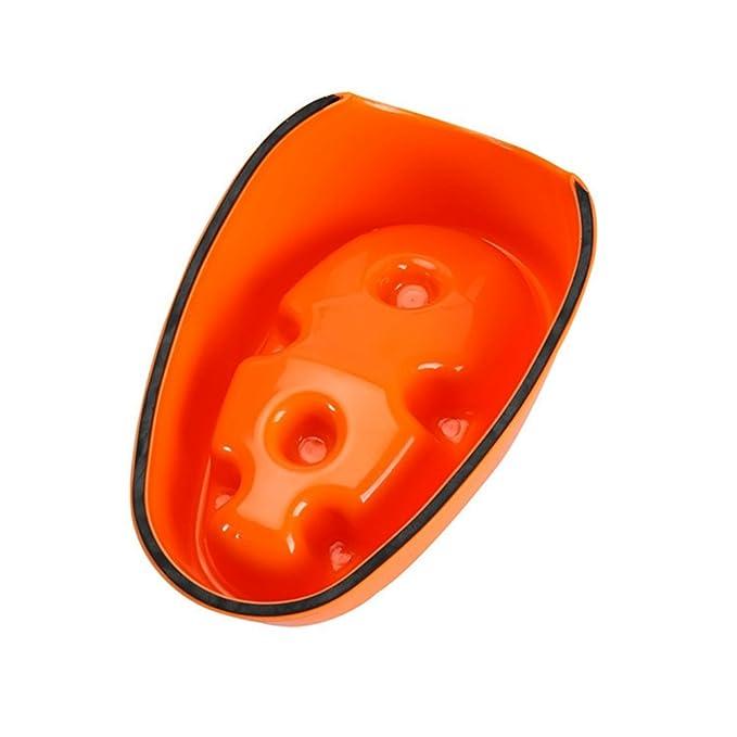 Ciotola Anti ingozzamento Ciotola Cani Mangiare Lento Distributore di Cibo Lento interattiva Viola, M: 19 * 12cm JEELINBORE Ciotola Gatti