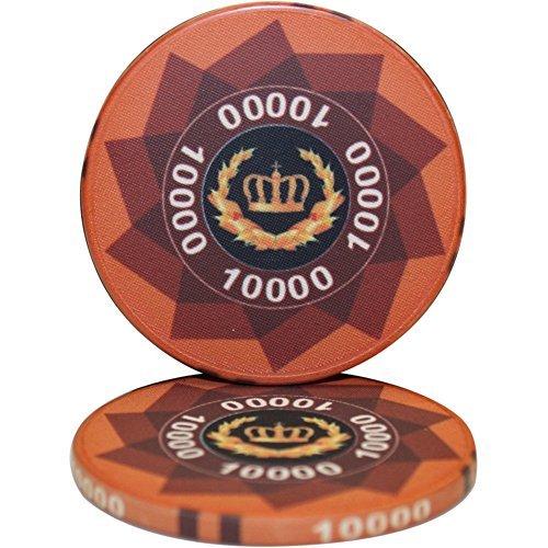 Laurel Laurel CrownセラミックPoker Chips 50パック by MRC -- 50パック Chips [並行輸入品] B078WVZ6DX, NISHIKIYA:276ff4a0 --- 2017.goldenesbrett.net