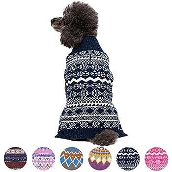 Amazon.com : Blueberry Pet 6 Patterns Let It Snow Classic Ugly ...
