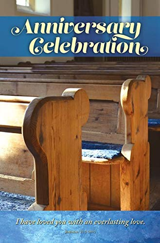 General Worship Bulletin -''Anniversary Celebration'' - NIV - (Package of 100)