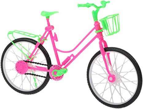 Wuweiwei12 - Muñeca de bicicleta para muñeca Barbie de 12 pulgadas ...