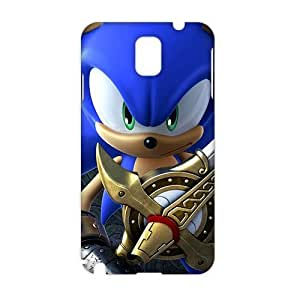 Angl 3D Case Cover Cartoon Sonic Phone Case for Samsung Galaxy Note3