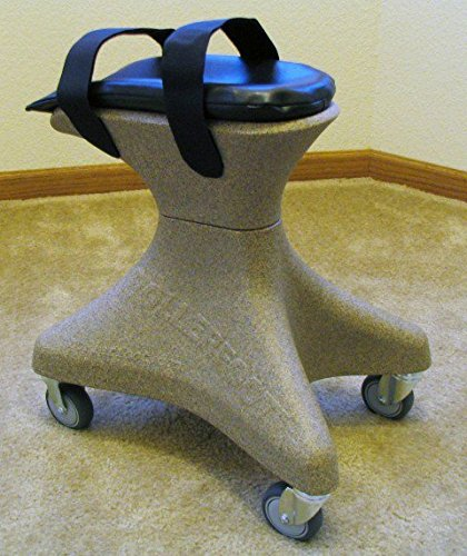 RollerFoot RFM0SND Knee Hands-Free Scooter For Adults 5 ft. 2 in. - 5 ft. 8 in. - Sand Stone
