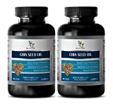 Brain Vitamins Memory - Chia Seed Oil 2000MG - Source of Omega 3-6-9 - Chia Seed Pills - 2 Bottles (120 Softgels)