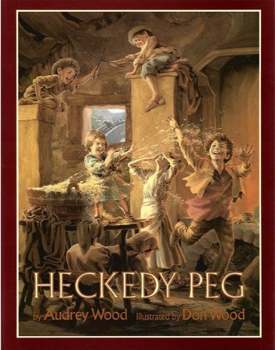Heckedy Peg By Audrey Wood Peg Handle