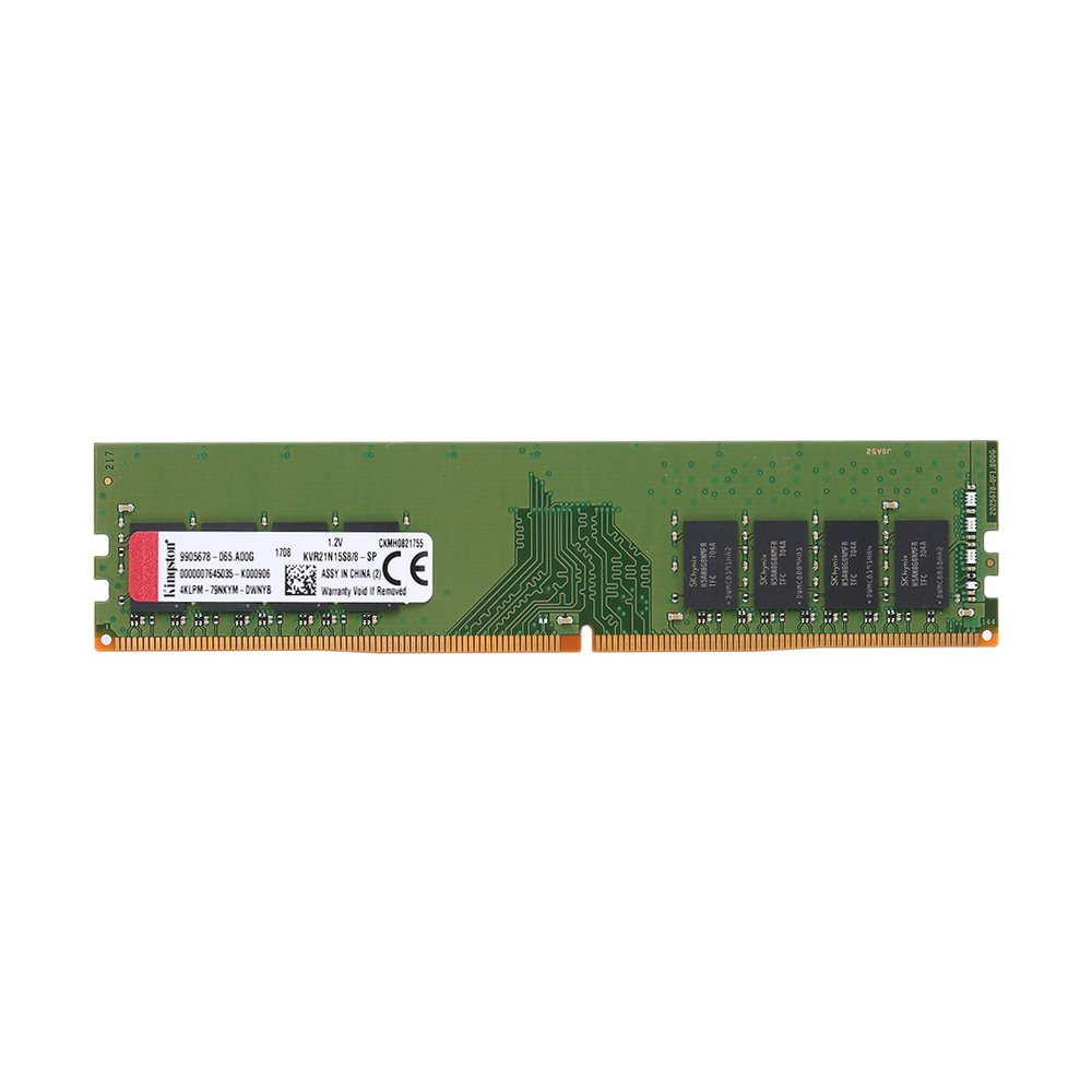 KKmoon Desktop Memory ValueRAM 4GB 2133MHz DDR4 PC4-2133 Non-ECC CL15 1.2V 1Rx8 288-Pin DIMM KVR21N15S8/4 by KKmoon