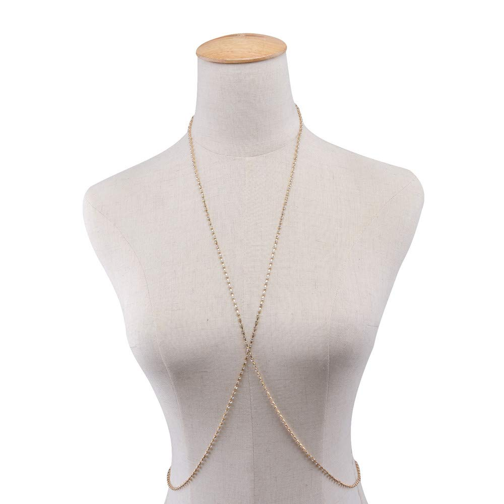 c0c642cdc91 Amazon.com: Hot Sale!💖OWMEOT Body Chains for Women - Sexy Fashion Belly  Jewelry Necklace (Silver): Beauty