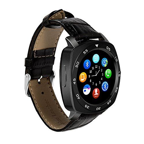 TechComm DM87 Smart Watch with Camera GSM Unlocked Bluetooth (Camera Gsm Smartphone)