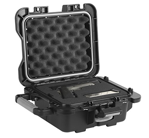 - Plano Fieldlocker Medium Mil-Spec Pistol Case, Black, Medium