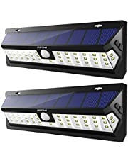 Mpow 30 LED Solar Lights,IP65 Waterproof Motion Sensor Lights with 3 Lighting Modes(30 LED)