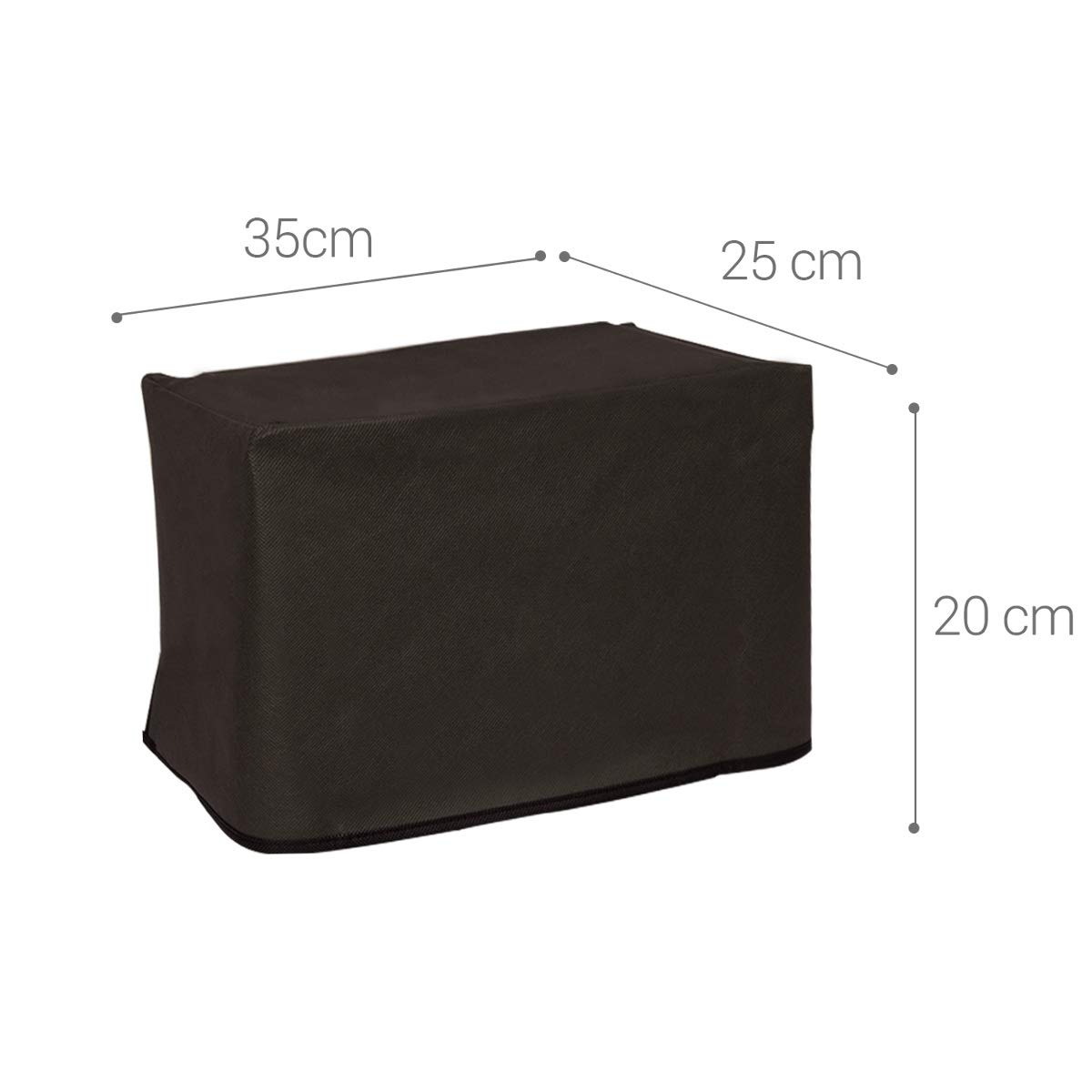 Dark Grey Printer Dust Protector 1212W kwmobile Dust Cover for Brother HL-1110
