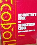 img - for Instructor's guide structured COBOL: Fundamentals and style book / textbook / text book