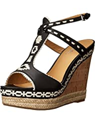 Belle by Sigerson Morrison Womens Aivi Wedge Sandal