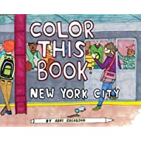 Image for Color this Book: New York City