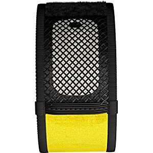 Mosquito Repellent Bracelets, iCooker® [No Spray, DEET-FREE] 2x FREE Repellent Refills - Best Pest Control Repeller Products for Ants, Insects & Other Mosquitoes - Perfect Bug Insect Repellent for Kids, Adults, Women and Children [Black Yellow]