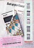 Bucks Fizz Prome Sharp Pocket Calculators Advert 11x8