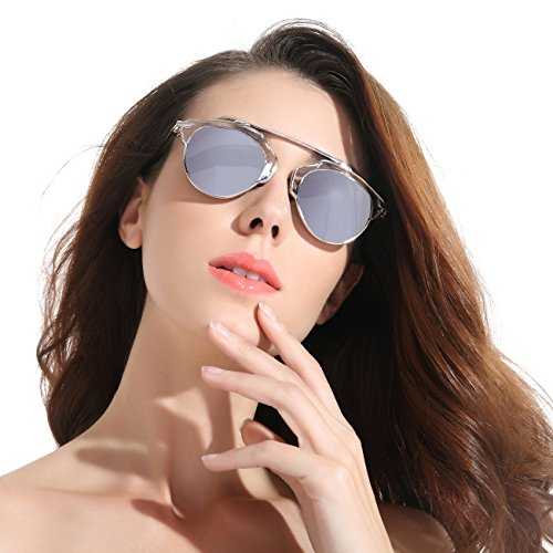 CHB Mirrored Lens street fashion metal frame polarized sunglasses uv400 with - Case Sunglasses Storage Ford