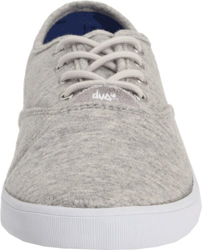 D.V.S. Dvs Women's Dewy W Athletic Knit 11 B (M) US Heather Grey Knit g30bjoYE
