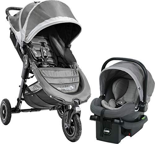 Baby Jogger 2018 City Mini GT Travel System, Steel - Mini Gt
