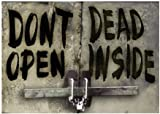 "HumperBumper.com CAR MAGNET : Don't Open Dead Inside - Walking Dead 4.25"" X 6"""