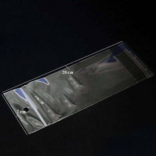 LIMMC 100 Bolsas de Almacenamiento de plástico Autoadhesivas ...