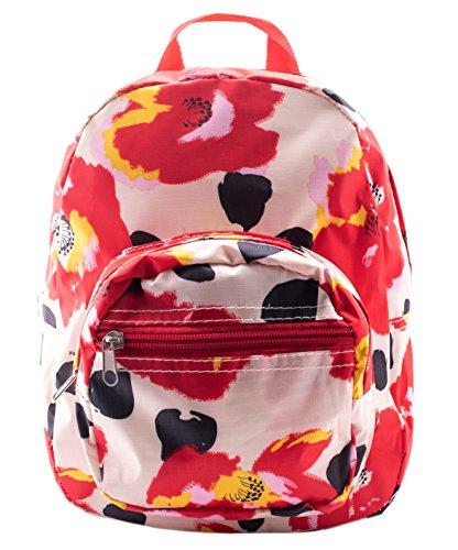 Mini Backpack - Floral Print - White