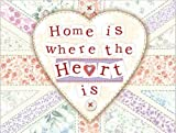 Original Metal Sign Co. Home Is Where The Heart Is Metal Wall Sign by Original Metal Sign Co