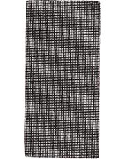 kwb Rutnät slippapper slippapper slipskiva för våt- och torrslipande, f. Swing slip 93 x 185 K-120, tillverkad av glasfiber, perforerad m. Kardborreband, 5 st.