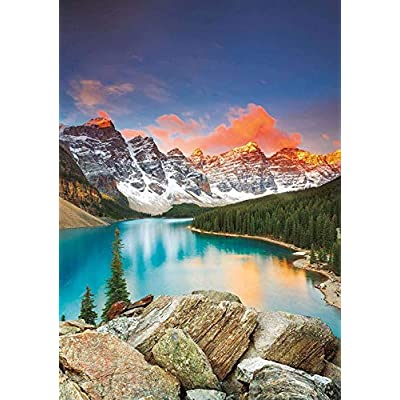 Puzzle 1000 Piece Jigsaw Puzzle for Adults,Bzdthh,Landscape Poster Banff National Park, Canada,Every Piece is Unique,Pieces Fit Together Perfectly: Toys & Games