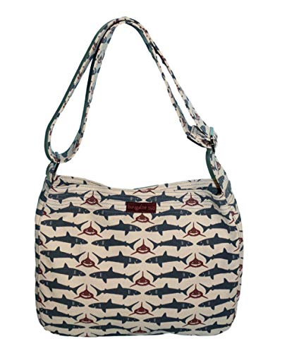 (Bungalow360 Messenger Bag (SHARK))