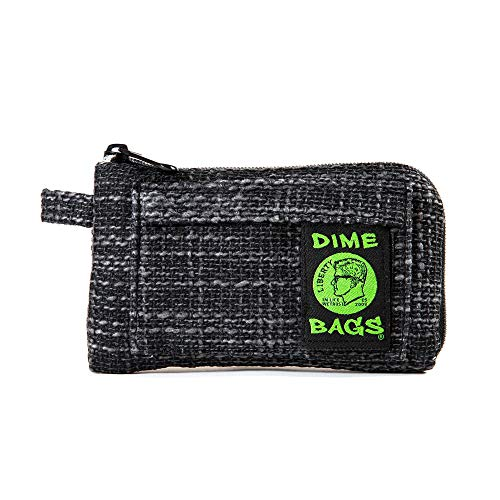 Padded Pouch - Soft Interior with Secure Heavy-Duty Zipper (7-Inch) (Black)