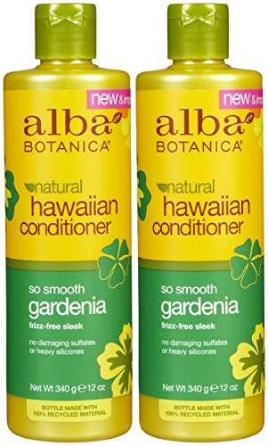 (Alba Botanica Gardenia Hydrating Hair Conditioner, 12-Ounce Bottle (Pack of 2))