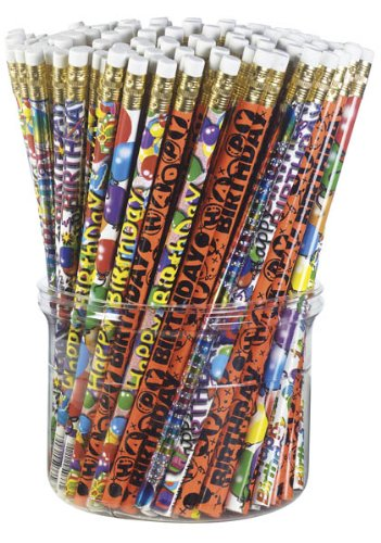 Birthday Mix Pencils, Package of - Pencil Mix