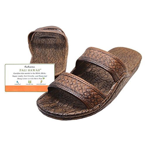 Pali Hawaii Light Brown JANDAL + Certificate of Authenticity (8)
