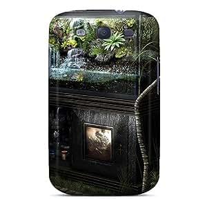 Tpu Case Cover For Galaxy S3 Strong Protect Case - Aquarium Design Design