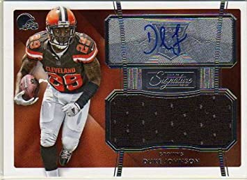 duke johnson autographed jersey