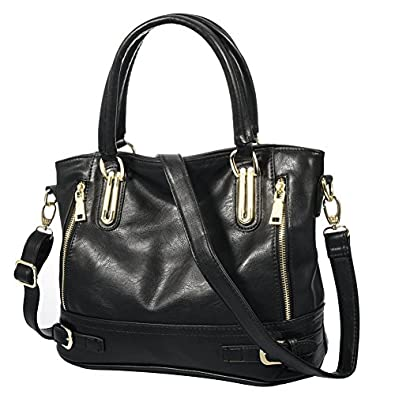 Amazon.com: Vbiger Leather Handbags For Women Large Capacity ...