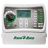 Rain Bird SST600IN Simple-To-Set Indoor Sprinkler System Timer/Controller, 6-Zone/Station
