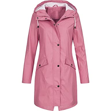100% authenticated amazing price coupon codes Amazon.com: Baulody Women's Waterproof Jacket Hooded Plus ...