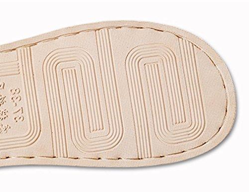 Cattior Dames Open Teen Comfortabele Schattige Slippers Pantoffels Roze
