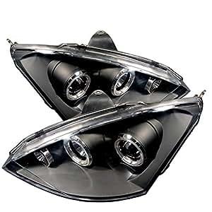 Spyder Auto Ford Focus Black Halogen Projector Headlight