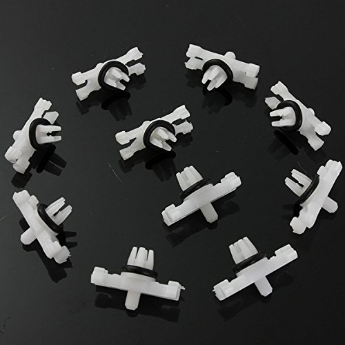 Other Tools - Gutter Fasteners Rain Clips Gutters Exterior Moulding Trim Roof Washer - 10xcar Roof Rain Gutter Moulding Trims Fastener Clips For Bmw E46 - Exterior Moulding Trim - 1PCs