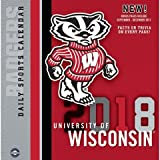 Wisconsin Badgers 2018 Calendar